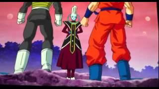 Goku e Vegeta vs Whis. (Treinamento)