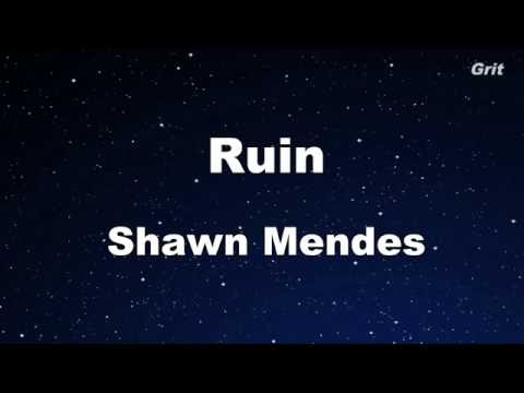Xxx Mp4 Ruin Shawn Mendes Karaoke 【No Guide Melody】 Instrumental 3gp Sex