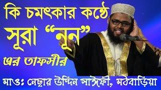 New Bangla waz by Nesar uddin saify Mathbaria সূরা নূন্  এর তাফসীর