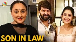 Sayyeshaa's Mom Reacts to her Daughter Marriage with Arya | Hot Tamil Cinema News
