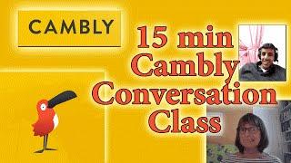 15-minute conversation class with Cambly - cambly برنامج - برنامج cambly