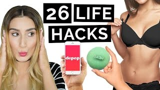 26 Life Hacks That Will Change Your Life!