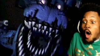 FIVE NIGHTS AT FREDDY'S 4 TRAILER REACTION! #ImDead