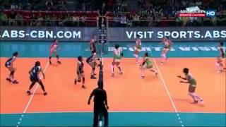 DLSU Lady Spikers Women's Volleyball Season 78 First Round Highlights