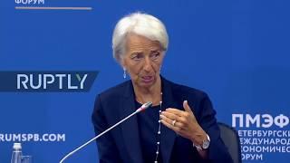 Live: Saint Petersburg International Economic Forum: Day 1