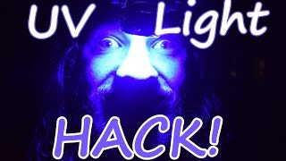 Phone Light to UV Light Hack!! (Works with other lights too!!)
