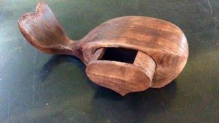 Bandsaw Box Whale
