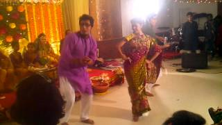 Shojib-jYoTi Holud Sondha Dance Perform Part 2