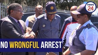 They were arrested accompanying their dead suspect friend -  Fikile Mbalula