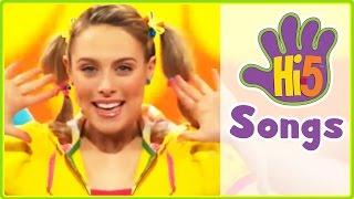 Hi-5 Songs | Five Senses & More Kids Songs