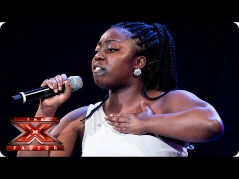 Hannah Barrett sings I d Rather Go Blind by Etta James Bootcamp Auditions The X Factor 2013