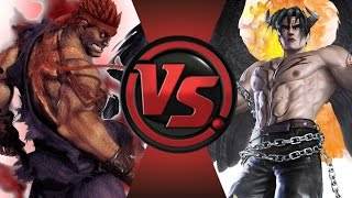 EVIL RYU vs DEVIL JIN! Cartoon Fight Club Episode 43