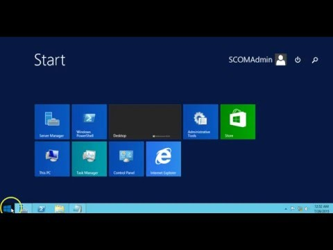 SCOM 2012 R2 (System Center Operations Manager) Installation Step By Step Full