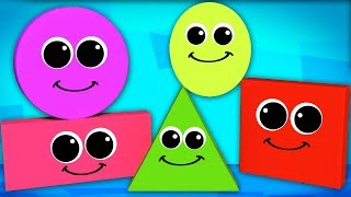 Shapes Song   Learn Shapes   Nursery Rhymes Songs For Children   Baby Rhyme