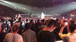 WWE live Singapore 2017 (All entrances + here and there)