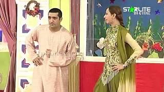 Zafri Khan, Deedar and Sakhawat Naz New Pakistani Stage Drama Full Comedy Clip