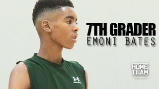 6'5 Emoni Bates The BEST 7th Grader In The World