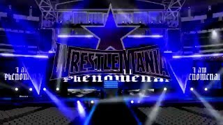 AJ Styles Wrestlemania 32 Entrance Stage Animation