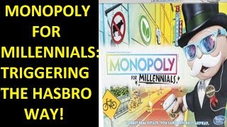 Monopoly For Millennials! Making Fun of NPC Culture With Hasbro!!