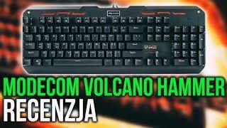 Budżetowa Klawiatura Mechaniczna - Modecom Volcano Hammer!