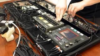 BURG - Qent - LIVE rehearsal (KORG volca and Kaoss pad KP3+)
