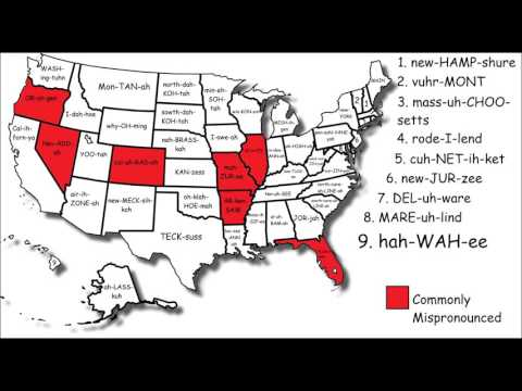 State pronunciation song 2
