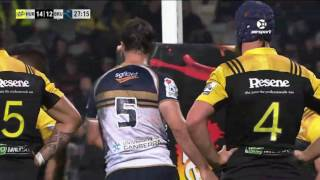 2017 Super Rugby Rd 9: Hurricanes v Brumbies