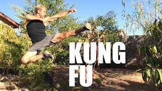Real Kung Fu Training - Chinese Martial Arts - Master & Student Part 7
