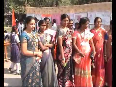 Andhra Girls School Vigyan Mela Bal Divas Samaroh