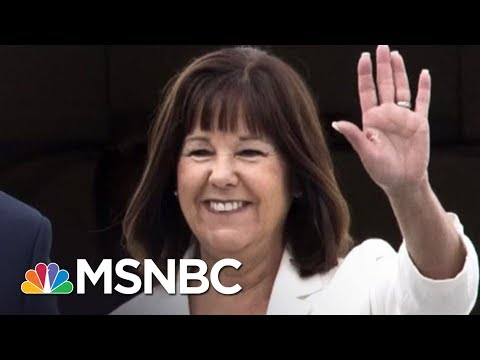 """Second Lady Karen Pence Finds Donald Trump """"Totally Vile"""" All In MSNBC"""