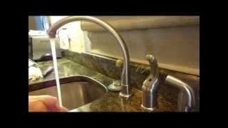 How to fix a dripping kitchen faucet(Come riparare un rubinetto Cucina)