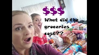 The Bonell Family - The Groceries Cost What??!?? - Aussie Family of 18