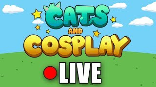 CATS & COSPLAY OUT NOW!! - Denis Mobile Game Launch Stream