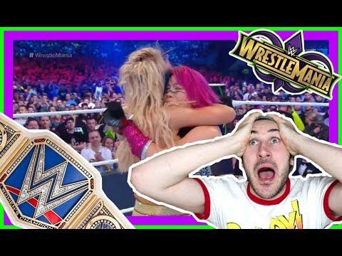 Xxx Mp4 Reaction Charlotte Flair Ends The Streak Of Asuka WWE Wrestlemania 34 New Orleans April 8 3gp Sex