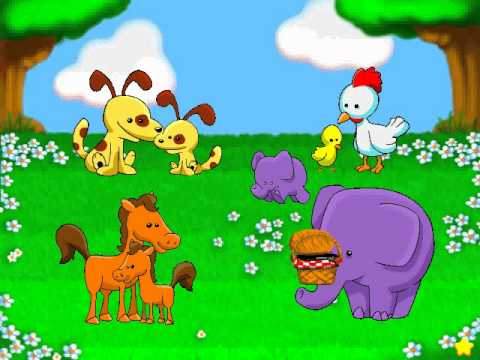 Lapin Malin Maternelle 1 Reader Rabbit Toddler Partie 2 Bingo Des Bébés