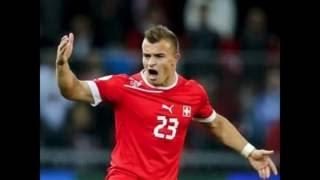 Euro 2016: Polandia vs Swiss: Gol spektakuler Xherdan Shaqiri