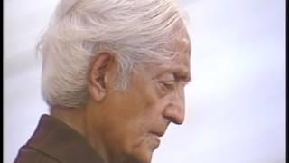 How does one break free of habits? | J. Krishnamurti