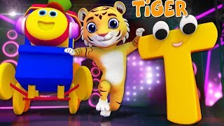 Phonics Letter T   Learning Street With Bob   Kindergarten Songs   ABC Videos for babies  by Kids Tv