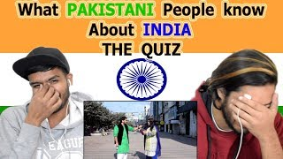Indian reaction on What PAKISTANI people know about INDIA | Pakistan on India | Swaggy d