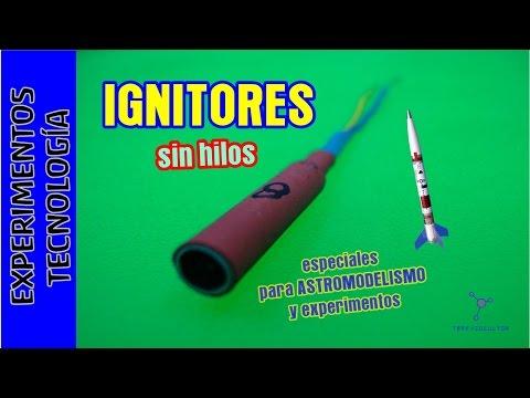 Cómo hacer un IGNITOR o inflamador ¡¡sin hilos . Wireless Ignitor