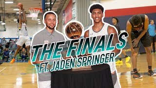 15-Year-Old WARRIOR. Jaden Springer Will FIGHT Through ANYTHING To Win 😱
