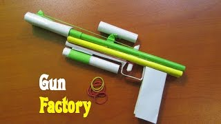How to Make a Gun that Shoots Rubber Band - Easy Tutorials