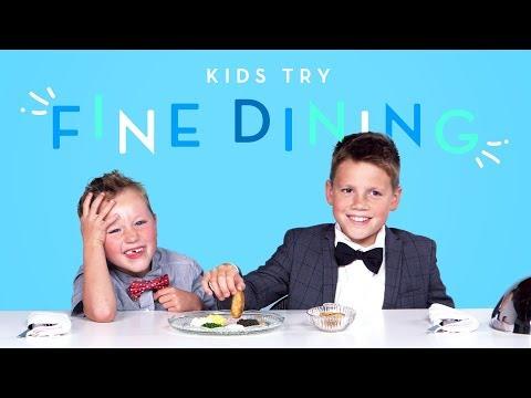 Kids Try Fine Dining Kids Try HiHo Kids