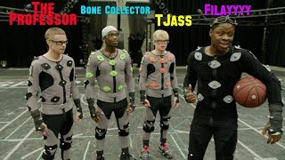 BTS NBA LIVE '19... The Professor, Bone Collector, TJass and Filayyyy. INSANE MOVES captured