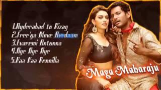 Maha Maharaju - Official Jukebox   Vishal, Hansika   Sundar C   Hip Hop Tamizha