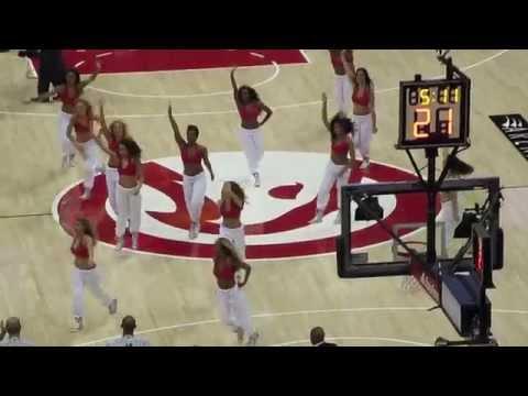Atlanta Hawks Cheerleaders - Lil Jon - Bend Ova ft. Tyga