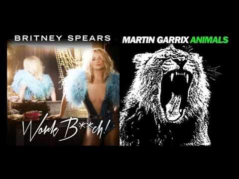 Britney Spears vs. Martin Garrix Animals vs. Work Bitch