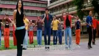 Mere Samnewali Khidi Mein (Eng Sub) [Full Video Song] (HQ) With Lyrics - Dil Vil Pyar Vyar