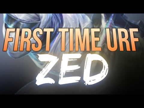 LL Stylish - FIRST TIME URF ZED