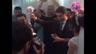 Vasif Məhərrəmli Mustafa Ceceli ilə toyda
